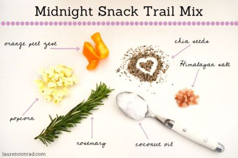 midnight snack trail mix