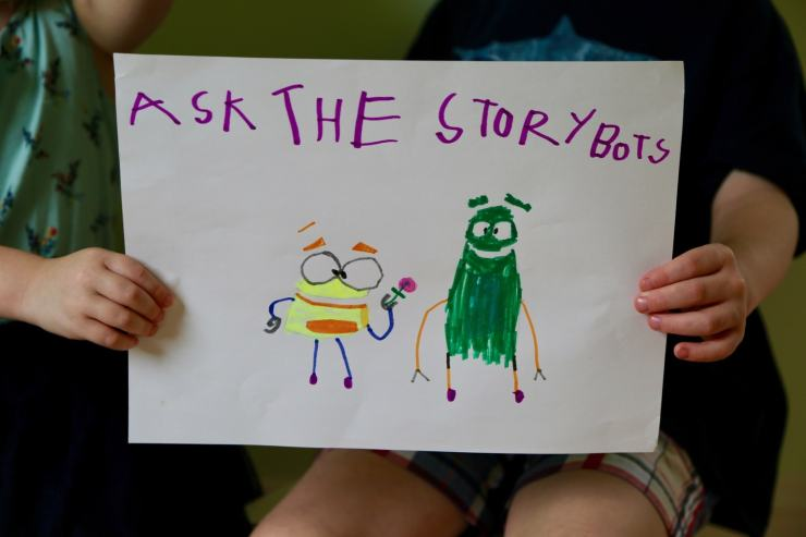 Sign of Ask the Storybots