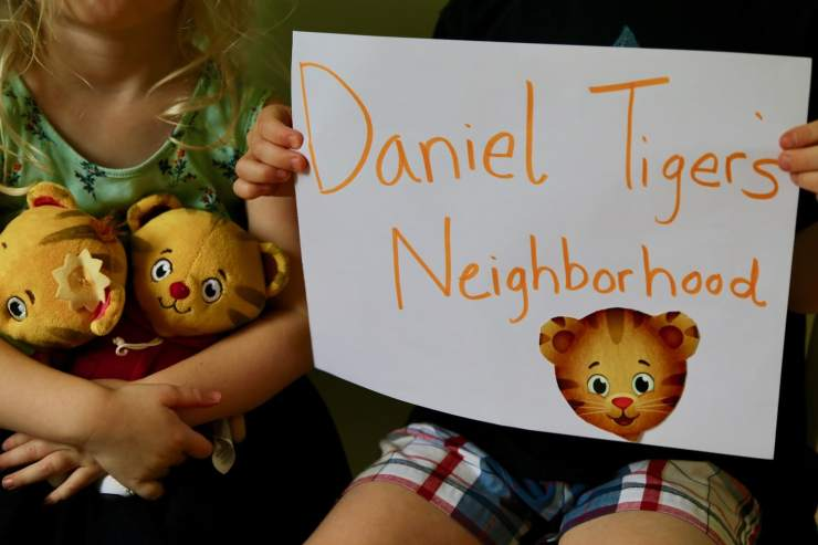Sign of Daniel Tiger's Neighborhood