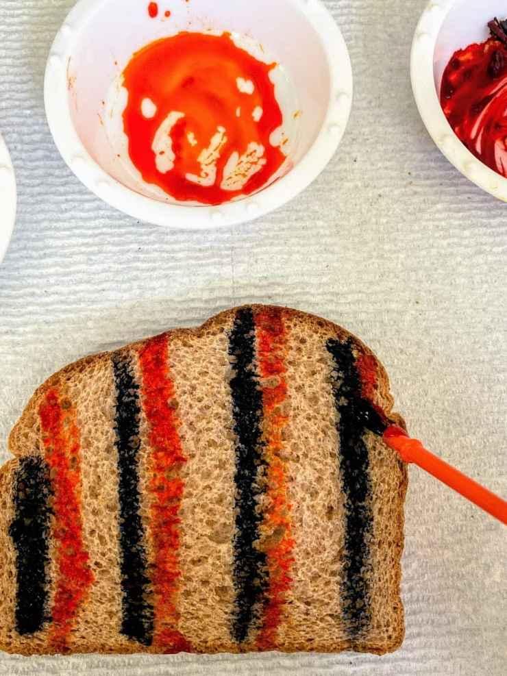 painting toast