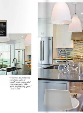 New England Home Kitchens Feature