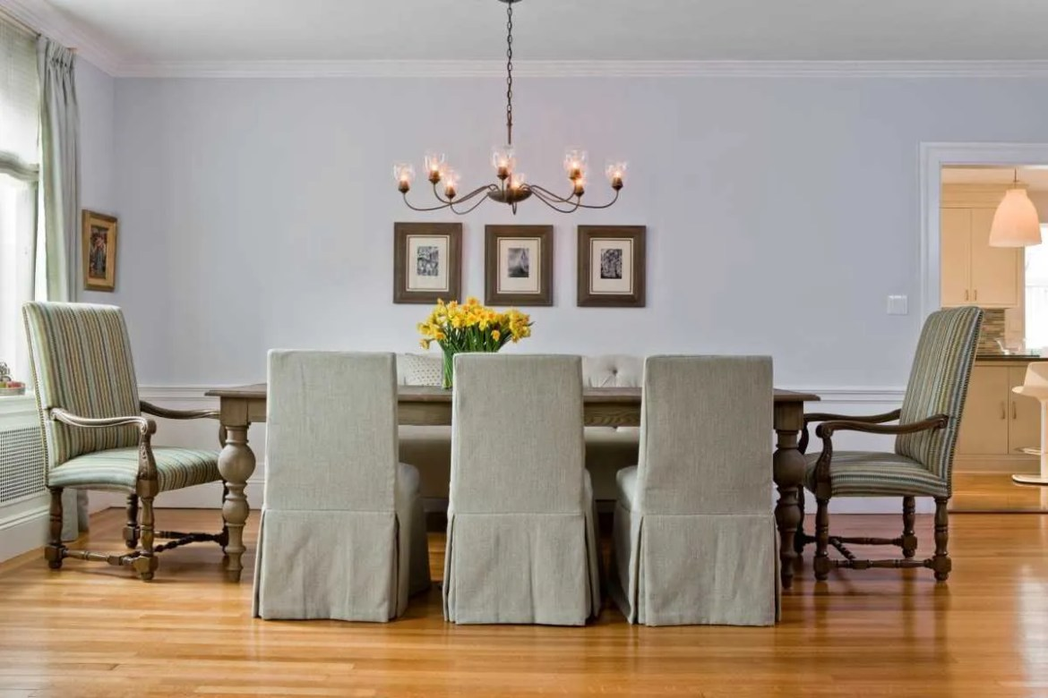 Platemark Interior Design Brookline Dining Room