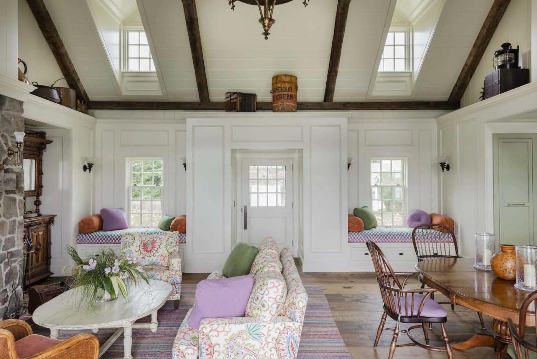 Platemark Interior Design Chatham Living Room Entry