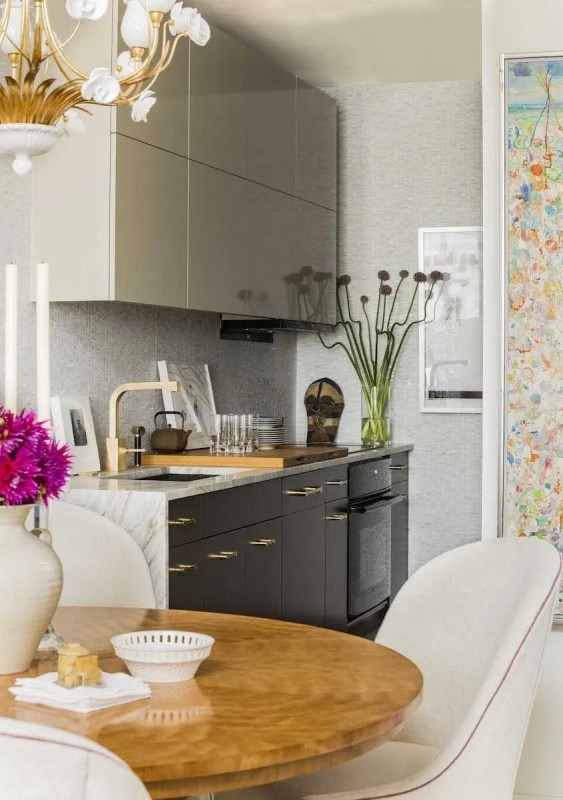 Platemark Interior Design Commonwealth Avenue Kitchen