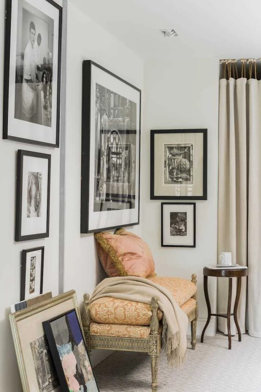 Platemark Interior Design Commonwealth Avenue Photography Nook Art