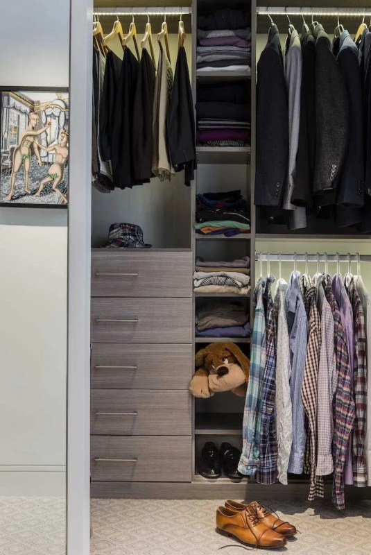 Platemark Interior Design Commonwealth Avenue Master Closet