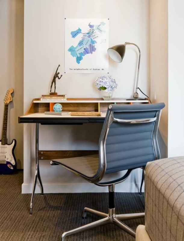 Platemark Interior Design Harvard Square Boys Bedroom Desk