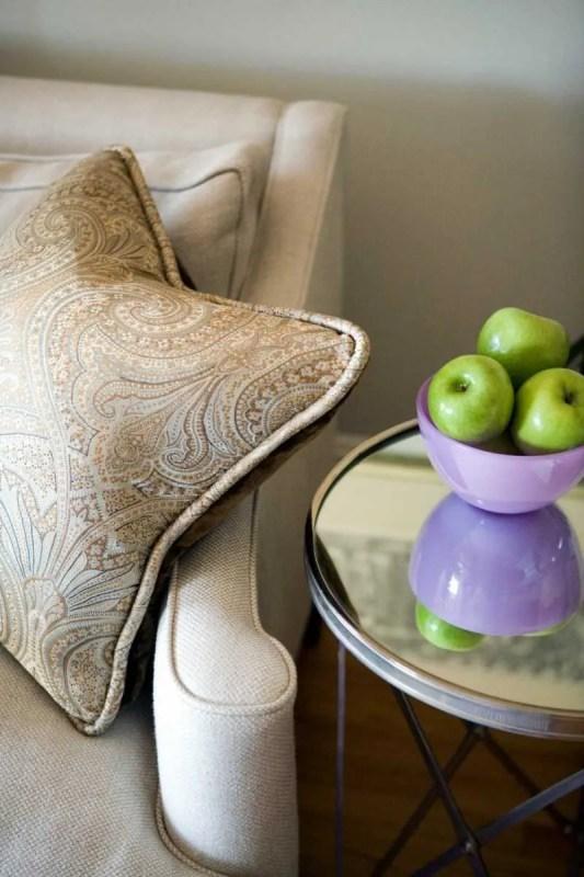 Platemark Interior Design South End Tremont Street Living Room Pillow