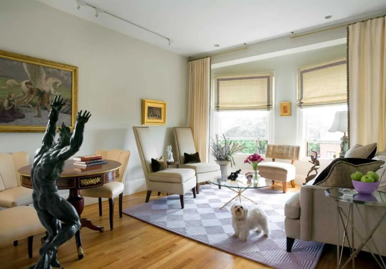 Platemark Interior Design South End Tremont Street Living Room