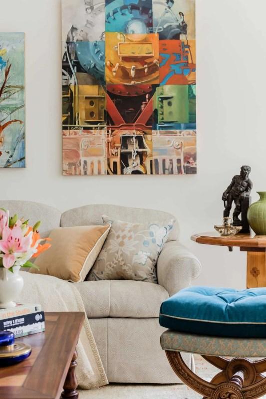 Platemark Interior Design Brattle Street Cambridge Living Room Sofa