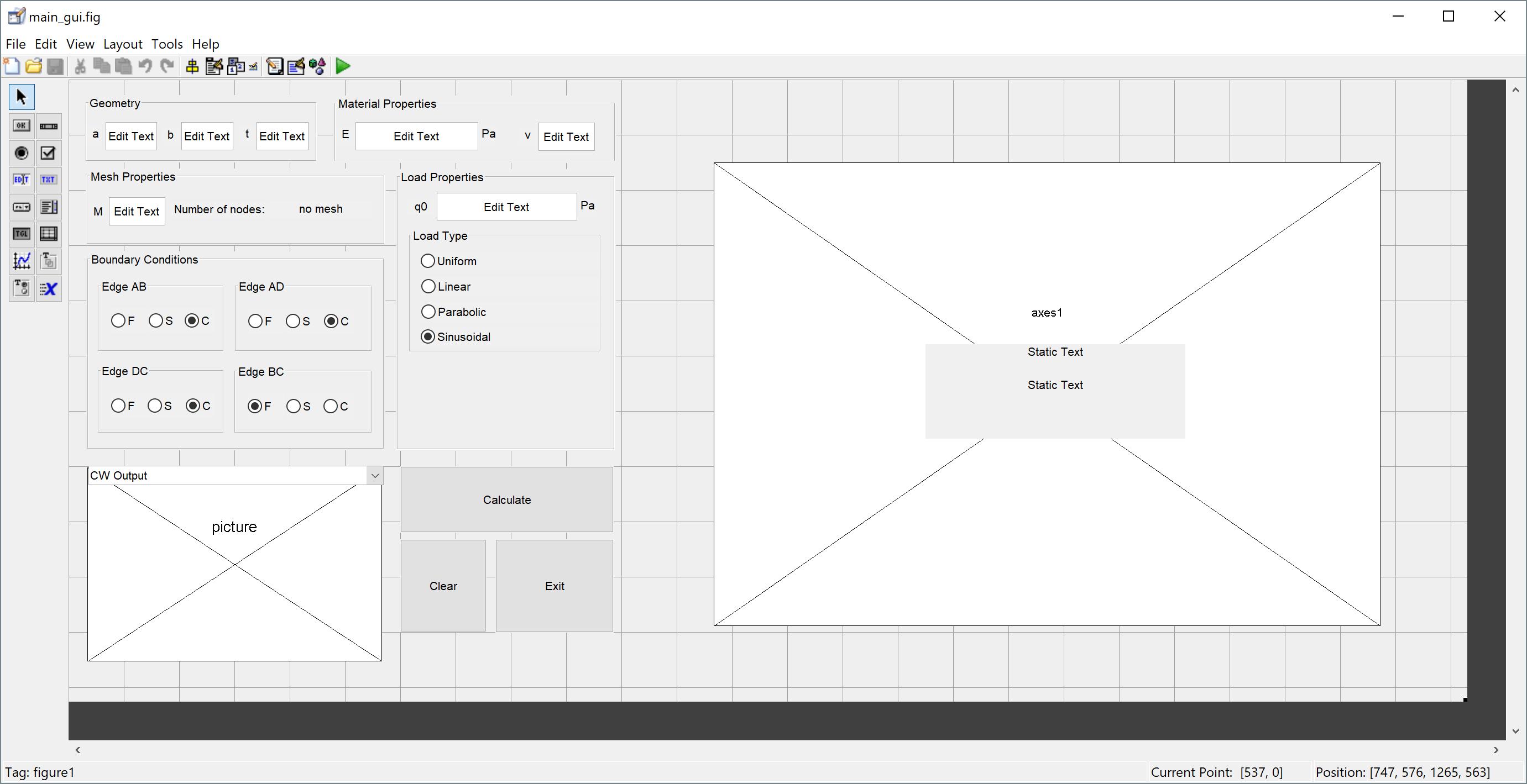 Software Development – Pt. II: Designing the GUI