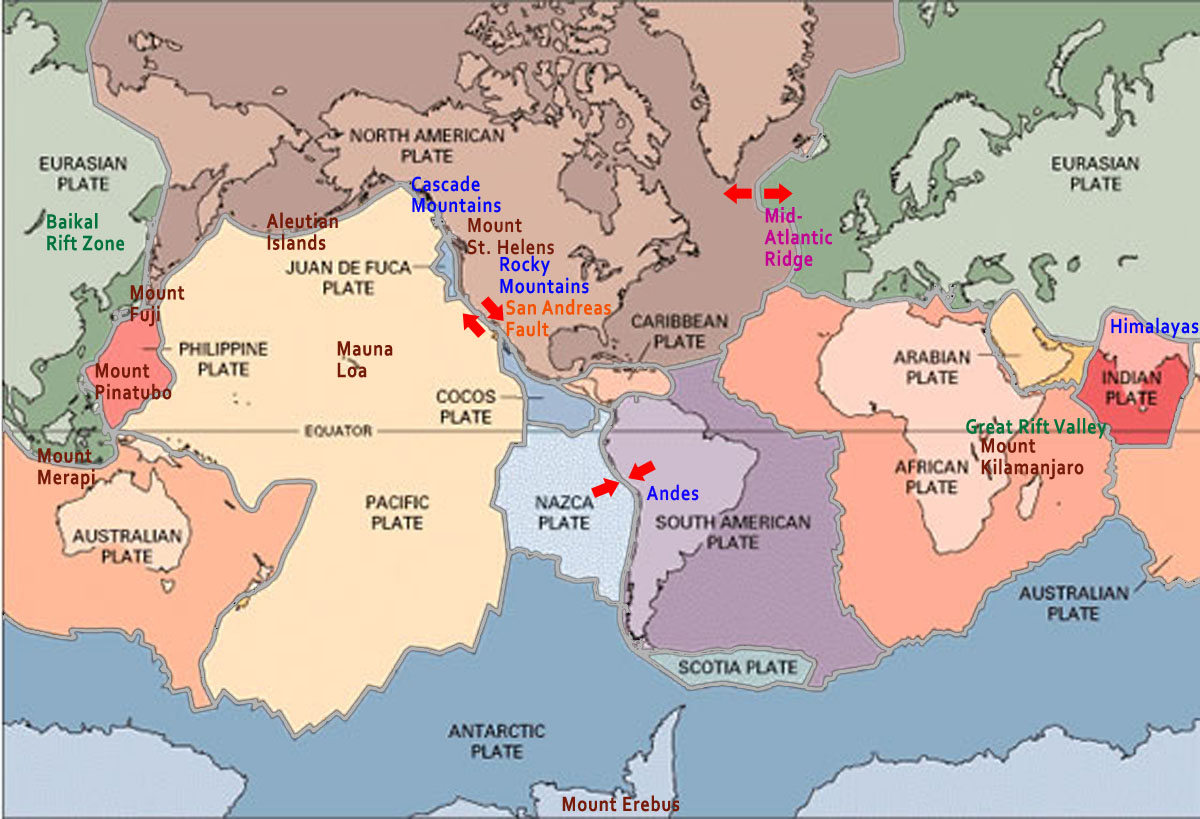 Landform Map The Final