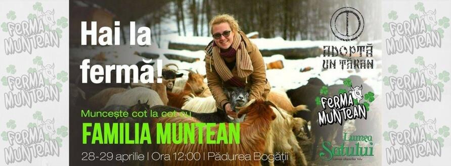 Aventură la stâna de capre a Fermei Muntean