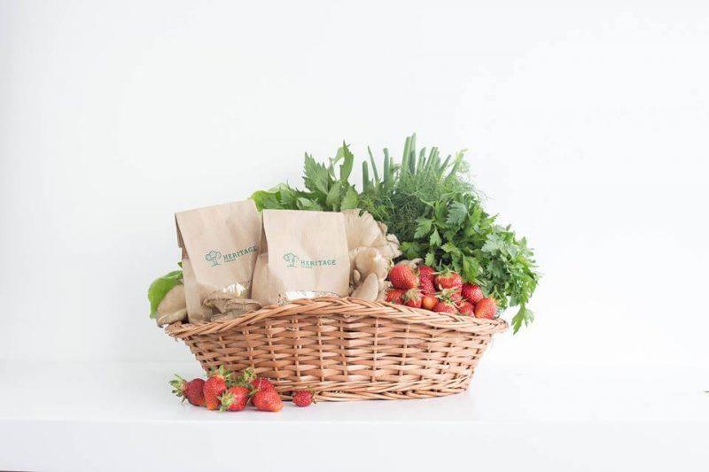 Cosul cu legume naturale Heritage Farms