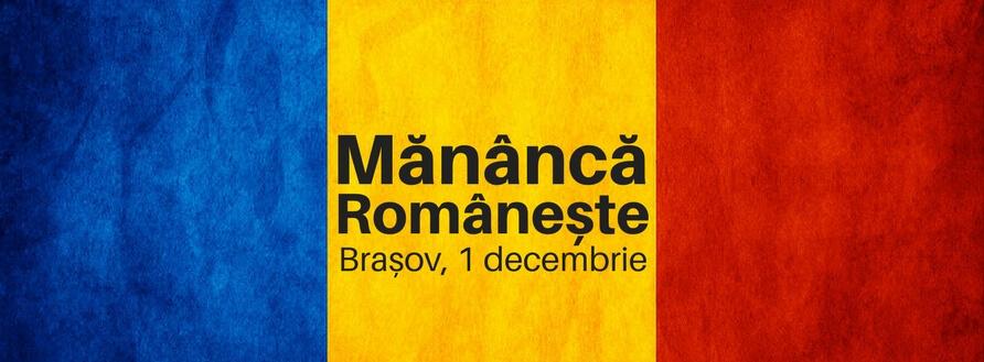 Meniu românesc din ingrediente locale – 1 decembrie la restaurant 7 Green Days, Brașov