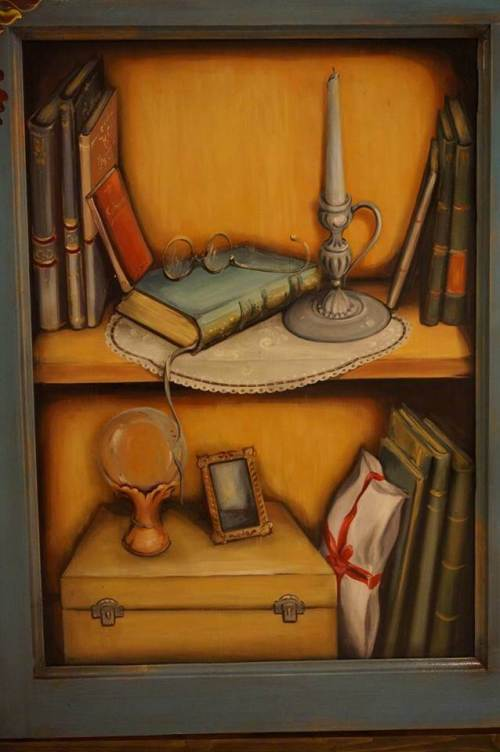 Mobila de bucatarie pictata manual de Mircea Ungurean (19)