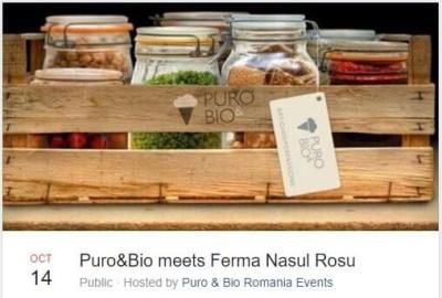 Nasul Rosu, legumicultori la targ, Puro e Bio meets Ferma Nasul Rosu, legume naturale Bucuresti