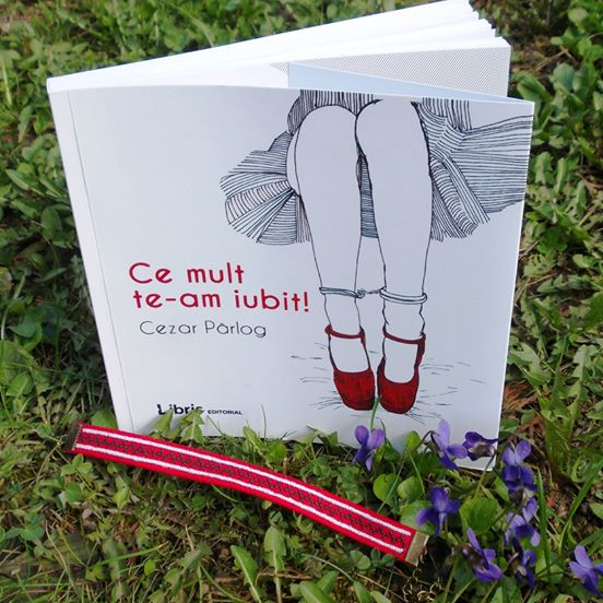 Pachet cadou carte și brățară cusută manual, motive traditionale romanesti (3)
