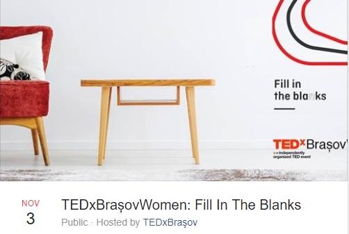 TEDxBrașovWomen Fill In The Blanks Centrul Cultural Reduta