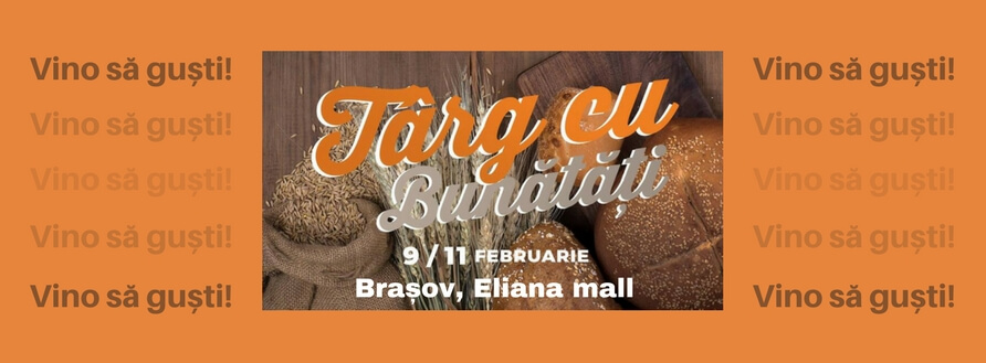 Târg cu bunătăți la Brașov, Eliana Mall