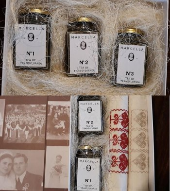 cos cadou Craciun 2017, Tea of transylvania, ceaiuri ecologice Marcella, The Country Hotel, Marcela Cosnean,