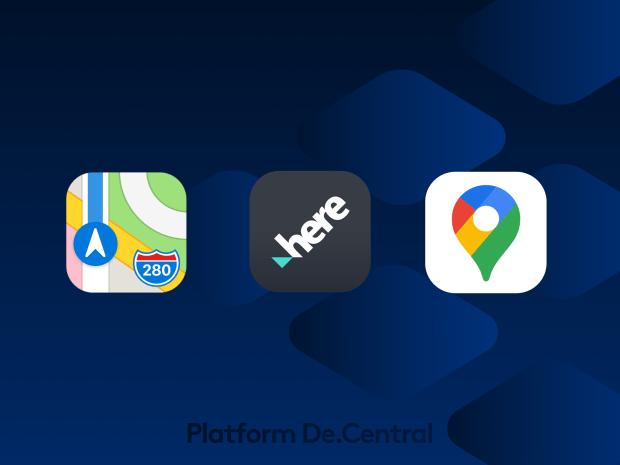Apple vs Google vs Here We Go Maps