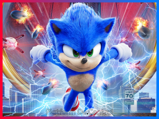Sonic the Hedgehog The Movie is out Now