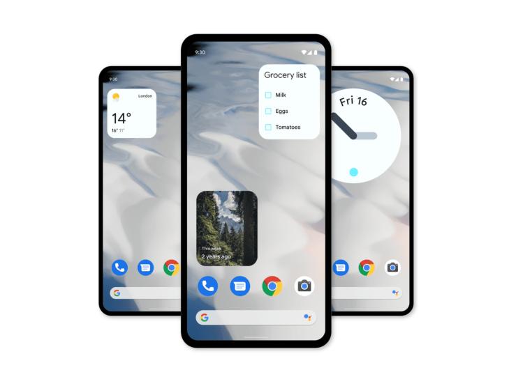 Android 12   Google's overhauled widgets
