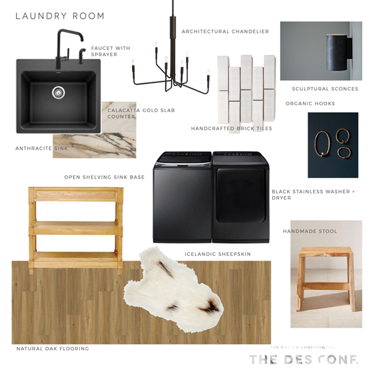 The Design Confidential x Blanco / Luxuries For An Early American Modern Laundry Room
