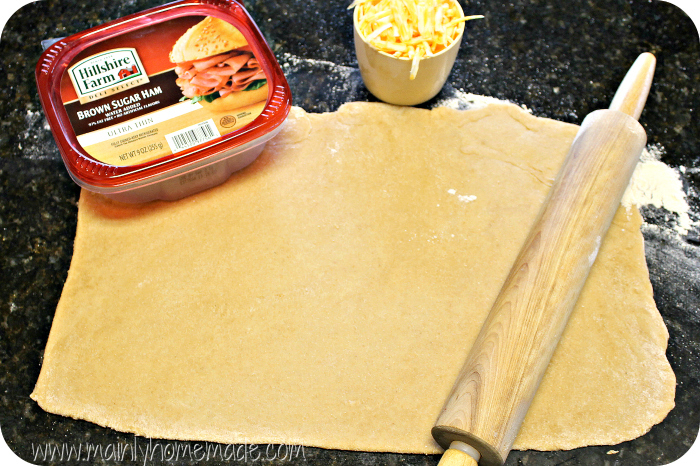Dough for Ham and Cheese Pinwheels