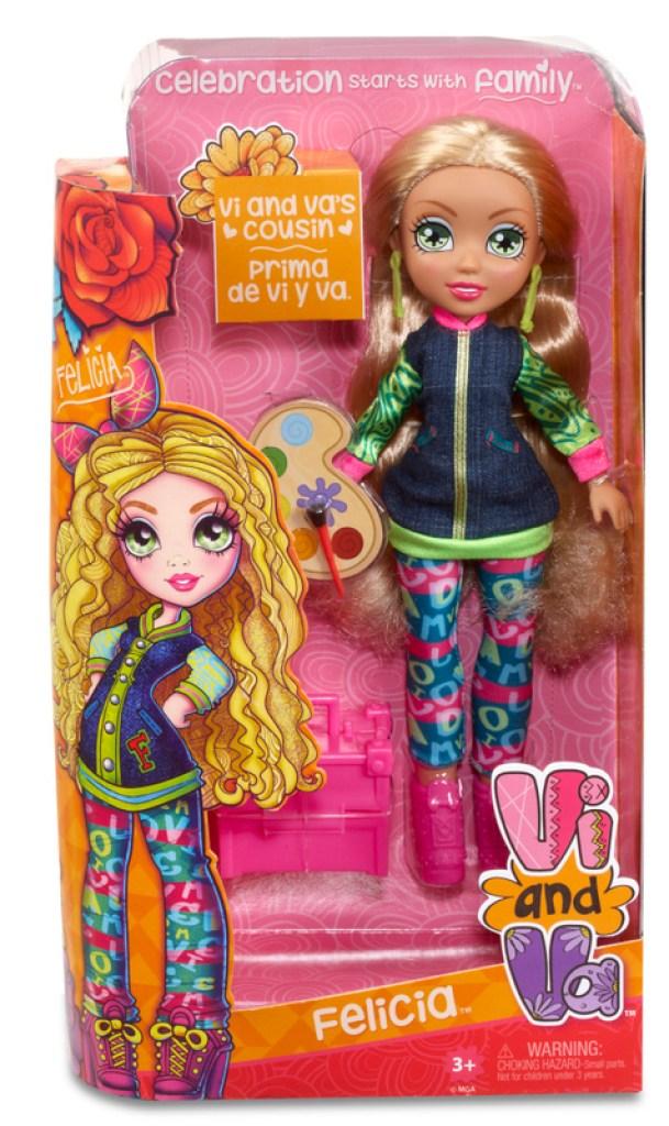 533054EM 534655EM Vi and Va Doll Felicia FW PKG F