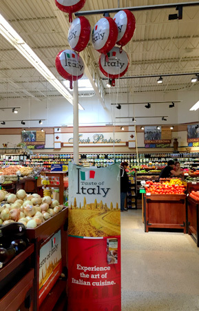 Taste of Italy event at Kroger