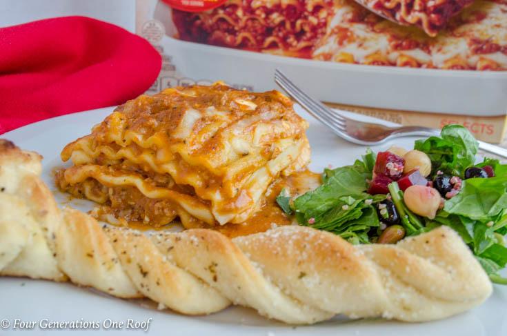 Quick Lasagna Dinner Idea during the week