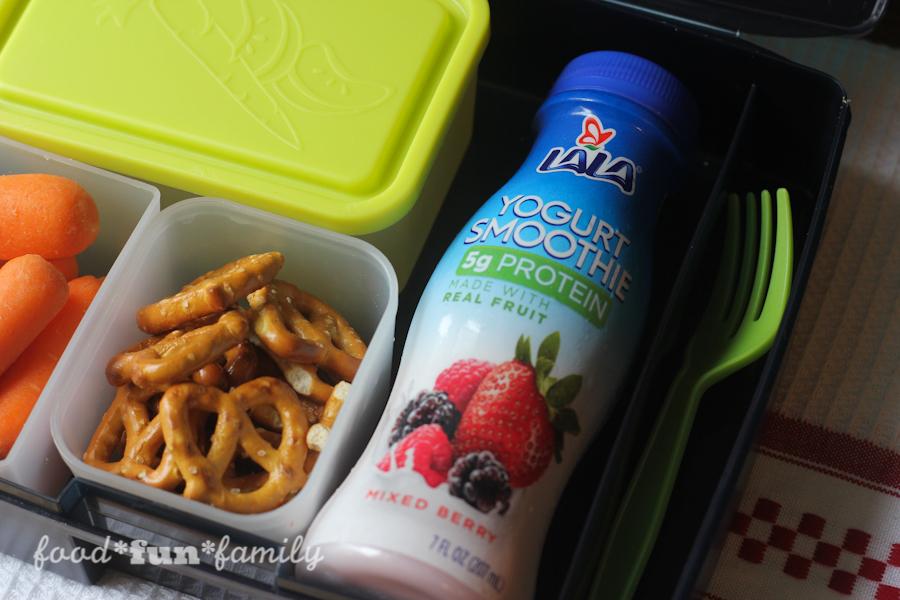 LALA yogurt smoothies