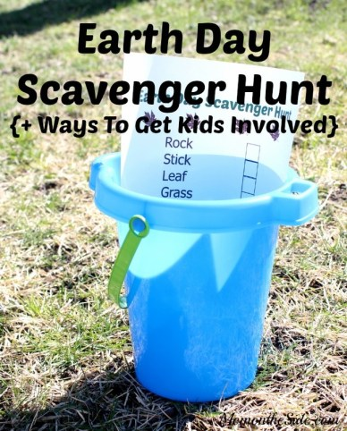 Printable Earth Day Scavenger Hunt + Ways to Get Kids Involved