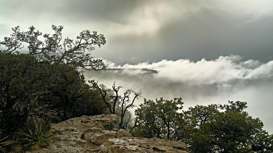 Grand Canyon Temperature Inversion