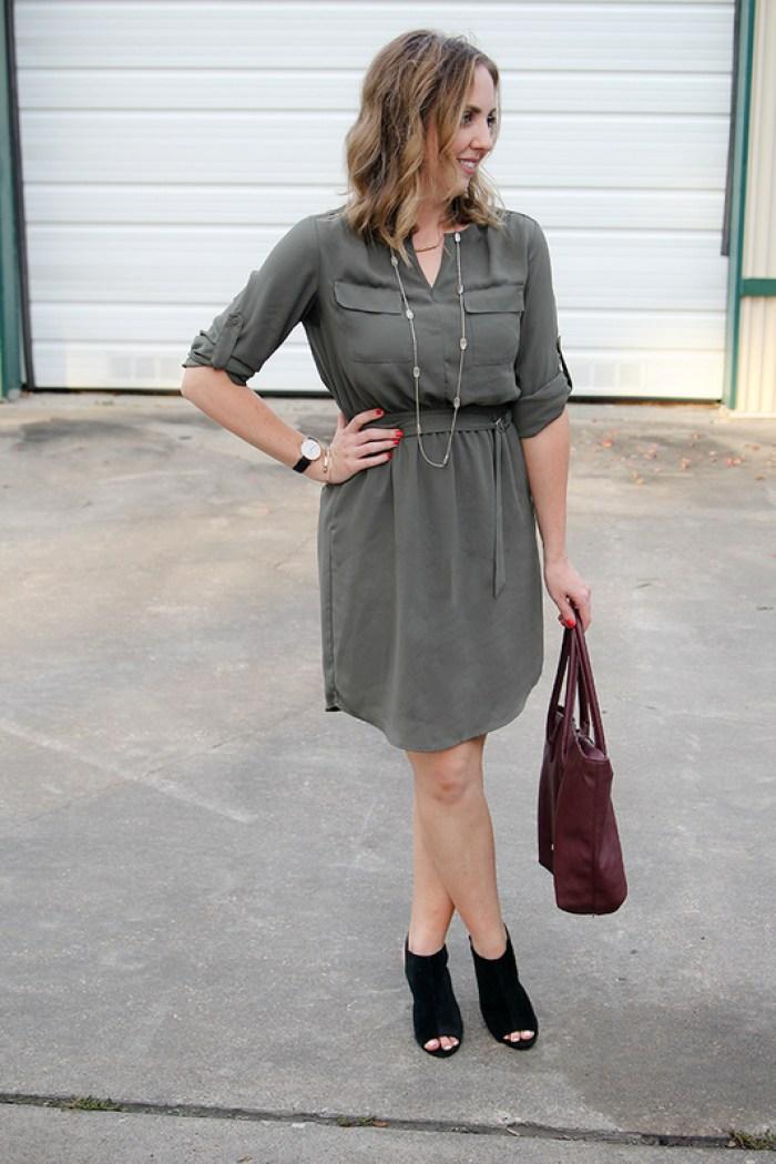 Fall teacher outfit idea