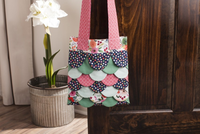 Scalloped Bag from Cricut Design Space