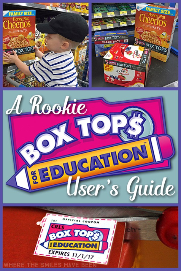 A Rookie Box Tops for Education User's Guide!   Where The Smiles Have Been