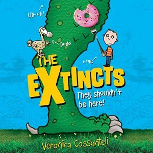 The Extincts + 9 More of The Best Audiobooks for Kids - to Make Summer Learning Easy Peasy and Fun - at B-Inspired Mama