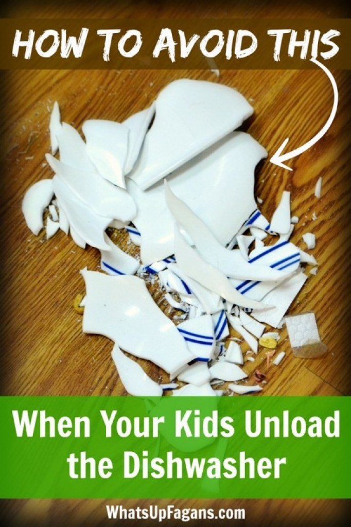 Great tips on having kids unload dishwasher, but without (hopefully) breaking anything! Really want my child to do this chore but I've always been hesitant for this reason!