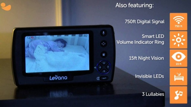 Levana Ovia 2 Camera Video Monitor