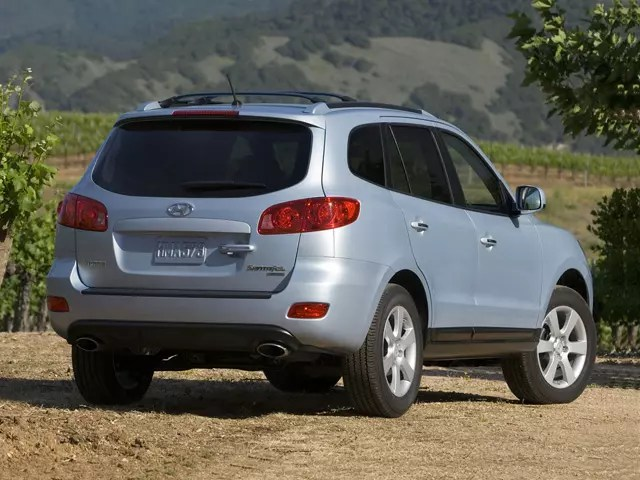 3 of 101 front view. 2008 Hyundai Santa Fe Specs Price Mpg Reviews Cars Com