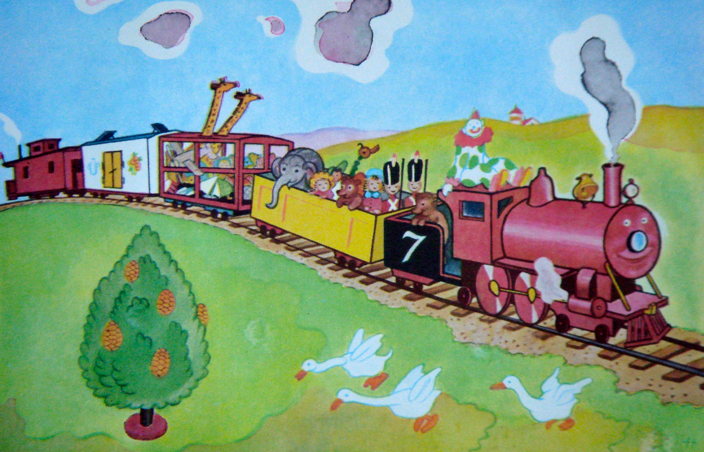 Race To Read The Little Engine That Could