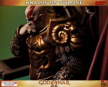 Kratos on Throne - Gaming Heads Exclusive - 5