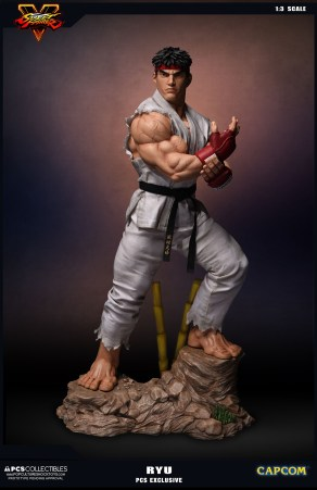 PCS Collectibles Street Fighter V Ryu Statue 2