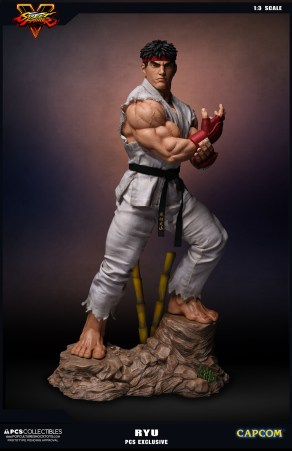 PCS Collectibles Street Fighter V Ryu Statue 3