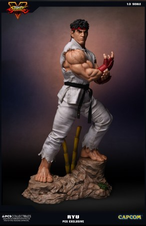 PCS Collectibles Street Fighter V Ryu Statue 4