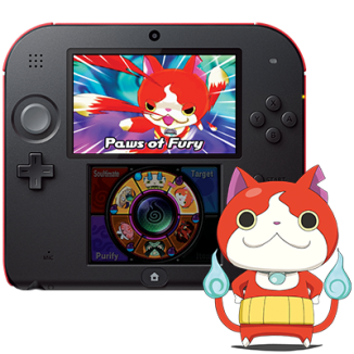 Nintendo 2DS YO-KAI WATCH Bundle