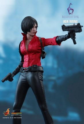 Resident Evil 6 20th Anniversary Hot Toys Ada Wong Figure 6